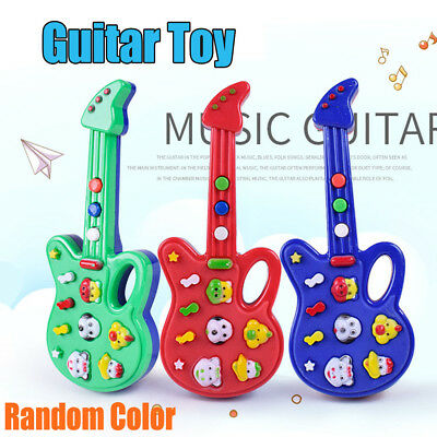 Kids Guitar Electric Musical Toy Children Toddler Play Music Educational and Fun