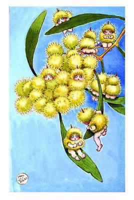 May Gibbs gumnut postcards - Snugglepot and Cuddlepie - 6 cards
