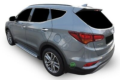 HYUNDAI SANTA FE mk3 2013-2018 STYLISH DESIGN Running Boards Side Steps