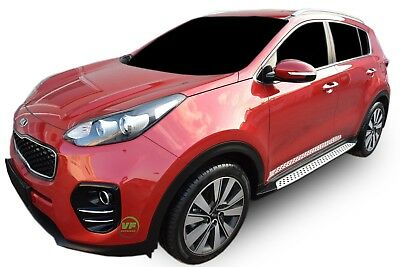 KIA SPORTAGE QL 2015-up Running Boards Side Steps PREMIUM QUALITY Factory STYLE