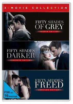 NEU Fifty Shades of Gray - 3 Movie Collection E L James 152864