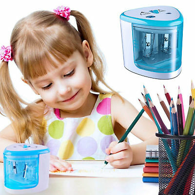 Little Automatic Electric Regular Colored Pencil Sharpener For Kids School Home