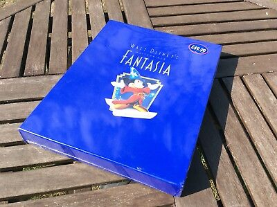 Walt Disney's Masterpiece FANTASIA Commemorative Edition boxed Vintage Collector