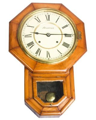 Vintage Style Original Home Decor Ansonia Pendulum Wall Clock Clock's HB 079