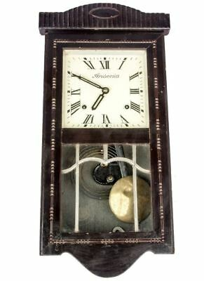 Classy Ansonia Antique Home Decor Wooden Collectible Pendulum Wall Clock HB 063