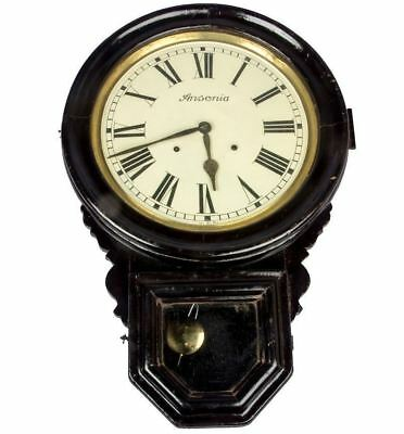 Design Old Vintage Ansonia Wooden Art Collectible Pendulum Wall Clock HB 060