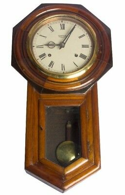 Antique Wooden Style With Tradition Smiths Enfield Theme Look Wall Clock HB 081