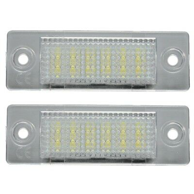 LED License Number Plate Light Lamp VW TRANSPORTER T5 CADDY TOURAN Golf Pas N5X4
