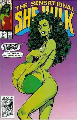 Sensational She-Hulk, The #34 NM; Marvel Controversial Cover