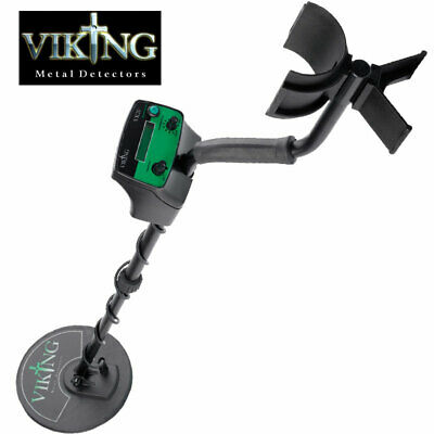Viking VK20 Metal Detector with Headphones, Coil Cover & Battery