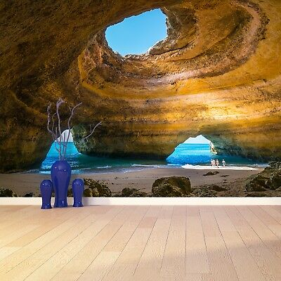 Photo wallpaper Wall mural Removable Self-adhesive Cave Portugal