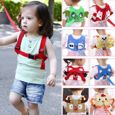 Baby Anti-lost Backpack Walking Safety Belt Harness Reins Strap with Leash