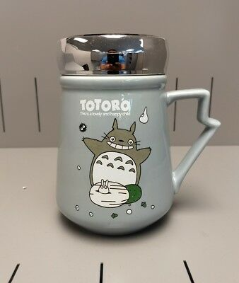 Totoro Coffee Mug with insulation cover New in a original box Ceramic