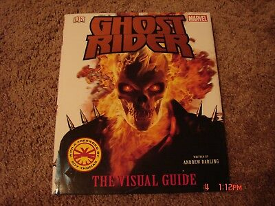 Ghost Rider The Visual Guide. Hc Book. Vf Like New Cond.