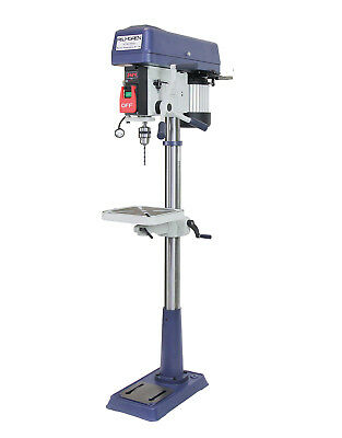 "15"" 16-Speed Step Pully Floor Drill Press"