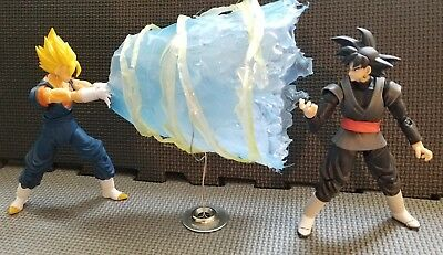 Custom Vegito Final Kamehameha Ki Effect No Figuarts Figure Vegetto dragon Ball