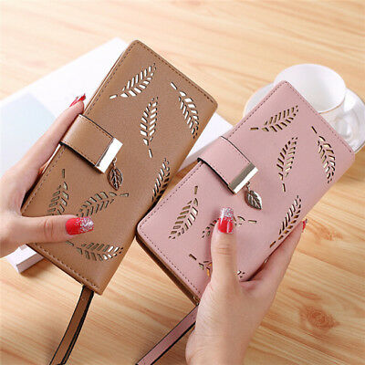 Fashion Women Zipper Purse Ladies Clutch Coin Wallet Phone Card Holder Handbag S