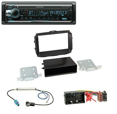 Kenwood Bluetooth CD AUX MP3 USB Autoradio für Alfa Romeo Giulietta 940 Facelift