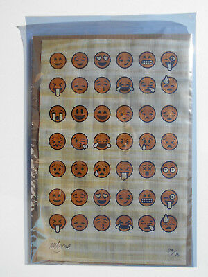""" EMOJIGLYPHS "" by IMBUE !!! 24/75 NEW & SEALED & SIGNED !!!"