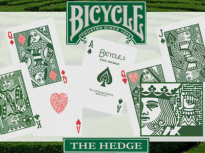 """Bicycle """"The Hedge"""" Playing Cards Stripper Deck - Kickstarter (only 288 exist)"""