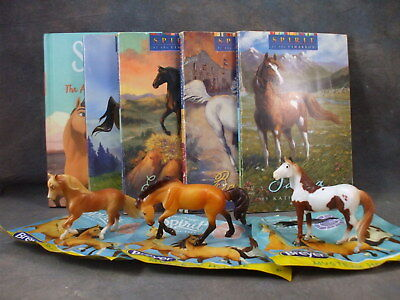 **SPIRIT: Riding Free** BOOK & Stablemate GIFT LOT! Books + Blindbag SMs! NEW!