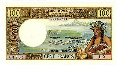 New Caledonia ... P-63a ... 100 Francs ... ND(1971) ... *UNC* ... Very Scarce