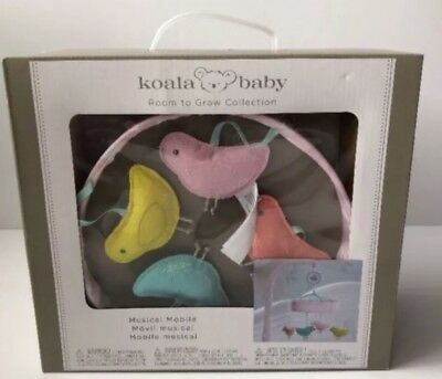 Koala Baby Room To Grow Musical Mobile Crib Nursery Decor Birds - New in Box