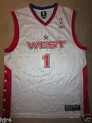 f0a64fbf8 Tracy McGrady  1 NBA ALL Star Game Houston Rockets Adidas Jersey LG L