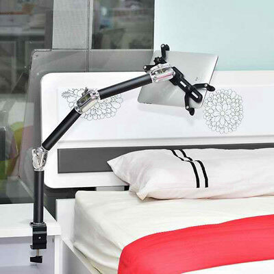 """4in1 Aluminum Desk Bed Wall Car Tablet Mount Stand Holder for 7-10"""" iPad 6 Air 2"""