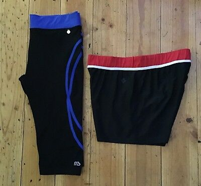 Activewear Mixed Pants, 2 Items, Mixed Colours; Size 14; Preloved