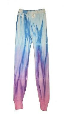 New Vintage 1980s Childrens Rainbow Magic Tie-Dye Leggings Size 12 Made in USA