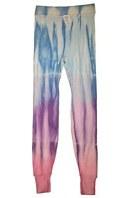 New Vintage 1980s Childrens Rainbow Magic Tie-Dye Leggings Size 10 Made in USA