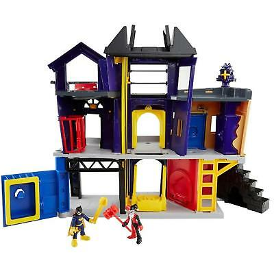 NEW Imaginext DC Legends of Batman Batgirl City Harley Quinn Playset