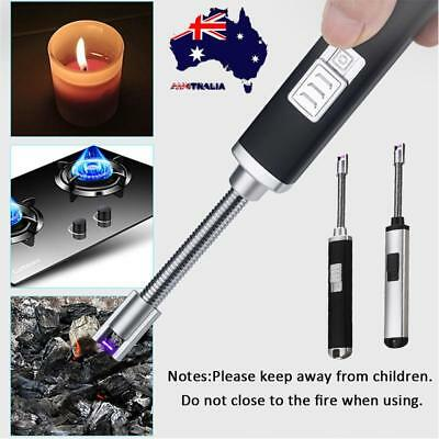 AU Electric Cigarette Lighter Arc Pulse Plasma Igniter USB Rechargeable Charging