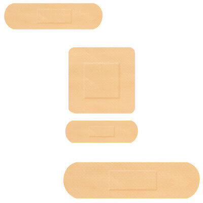 100x Click Medical Waterproof Assorted Size Plasters Bandages First Aid Adhesive