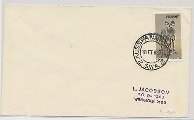 LI51868 South West Africa 1983 fine cover with good cancels used