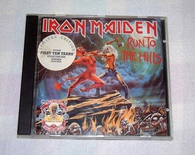 Iron Maiden - Run To The Hills / The Number Of The Beast - 5 Track Cd - Rare