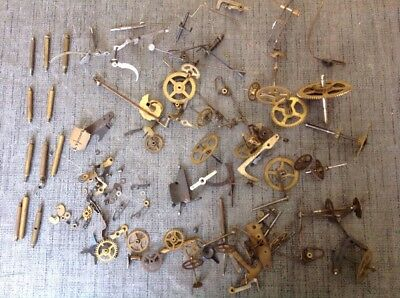 Clockmakers Cogs Wheels Escapes From Clock Makers Spare Parts Collection