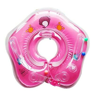 Baby & Kids Swimming Lifebuoy Neck Float Collar Tube Ring Adjustable Safety Aids