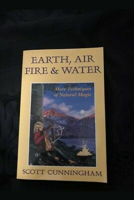 Earth Air Fire & Water by Scott Cunningham Llewellyn PB Natural Magic Wicca