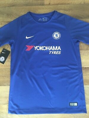 Nike Kids Chelsea 17/18 Home Shirt HAZARD 10 (13-15 Years) BNWT