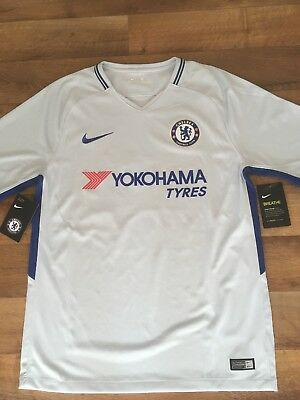 Nike Mens Chelsea 17/18 Away Shirt HAZARD 10 (Medium) BNWT