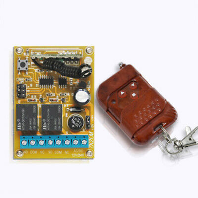 12V Motor Speed Controller Forward Reverse Switch Wireless Remote Practical New