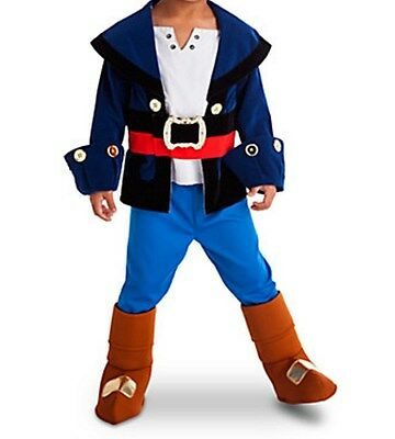NEW Disney Store Jake and the Never Land Pirates Costume sz 3 NWT