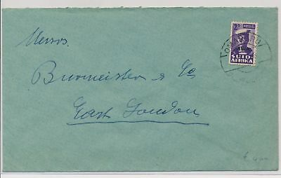 LI59855 South West Africa fine cover with nice cancel used