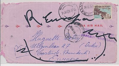 LI59861 South West Africa 1969 airmail fine cover used