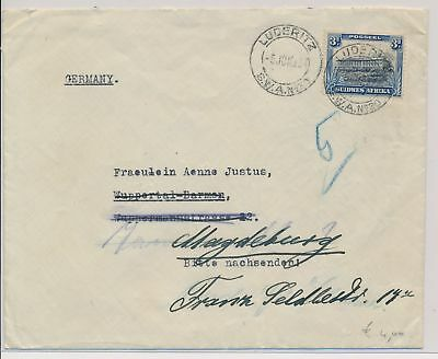 LI59871 South West Africa 1930s to Germany fine cover used