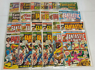 Fantastic Four Comic Book Lot 100+ Issues #'s Range From 42-645