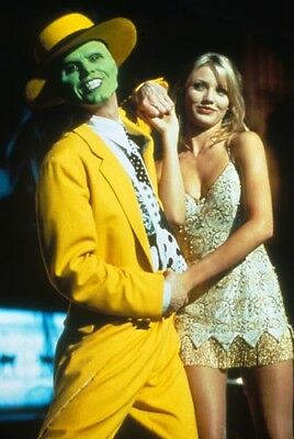"Cameron Diaz / Jim Carrey [The Mask] 8""x10"" 10""x8"" Photo 64856"