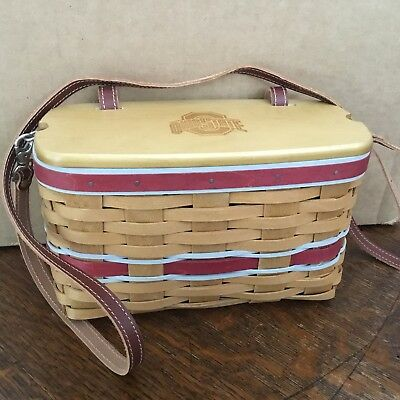 Longaberger Basket 2010 Ohio State Small Purse With Protector